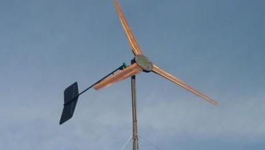 Большой ветрогенератор своими руками