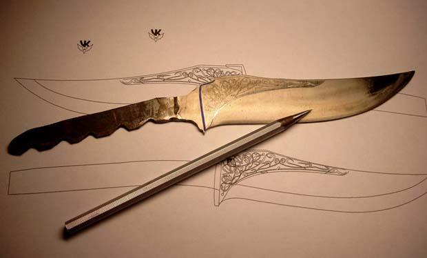 Рисунок на металл