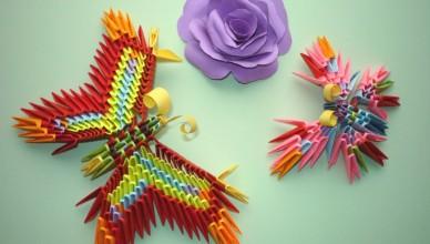 модульное оригами бабочка