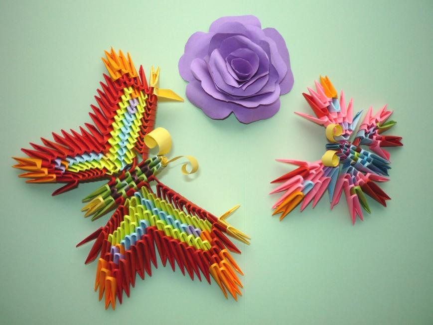 Модульные оригами схемы