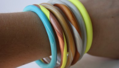 браслеты из полимерной глины фото