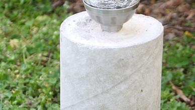 Садовые светильники «Style Concrete» своими руками
