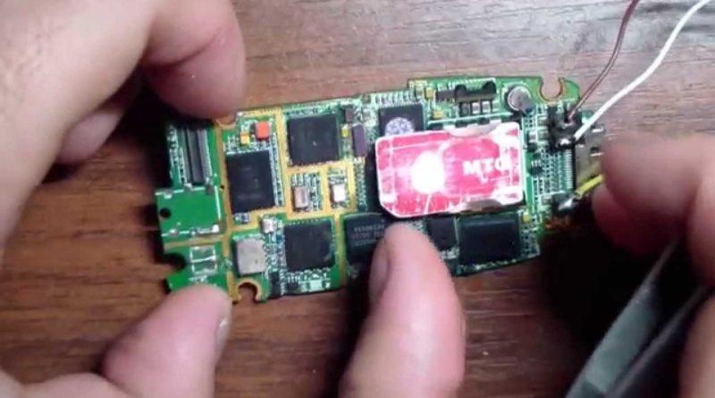 GSM жучок из мобильного телефона