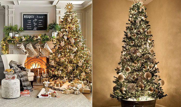 Идея украшения новогодней елки