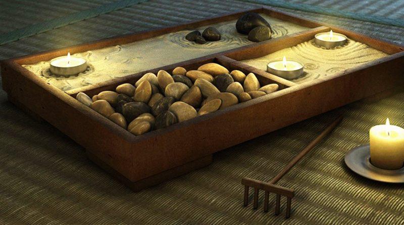 Настольный сад камней своими руками