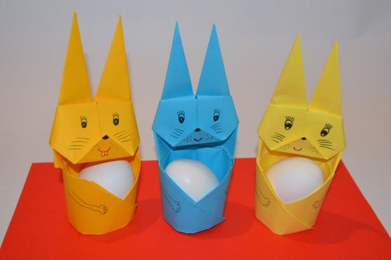 Оригинальная подставка оригами