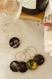 Серьги Wine Charms