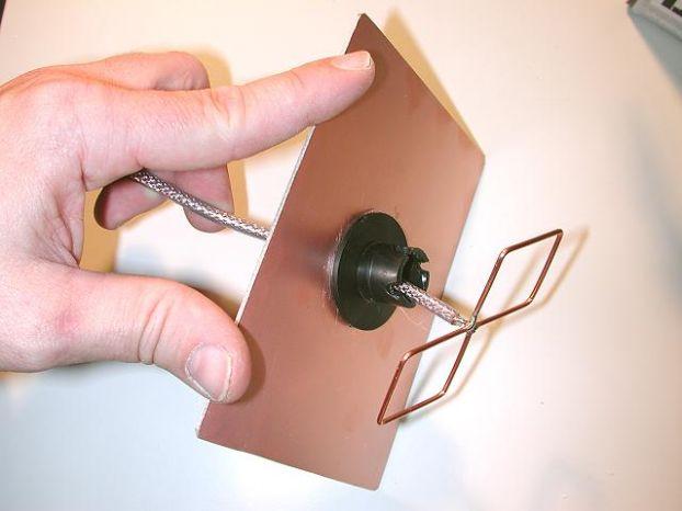 Как сделать самодельную мощную антенну для телевизора 88