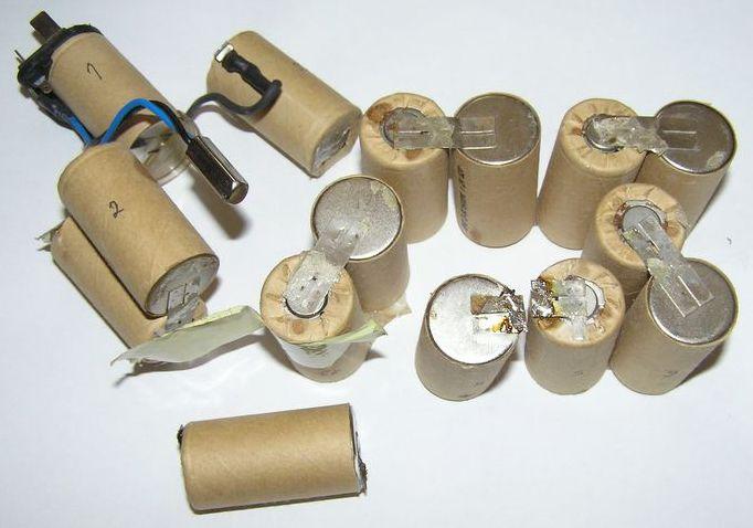 Ремонт аккумуляторных шуруповертов своими руками