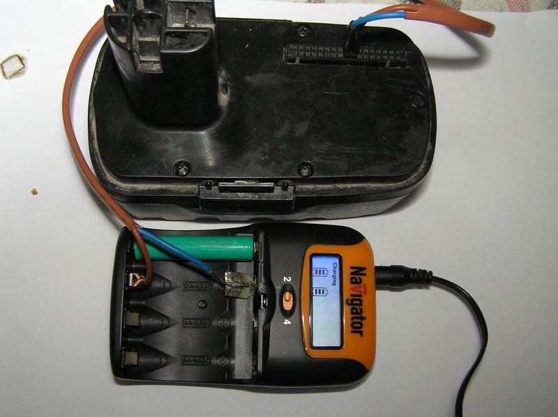 Аккумулятор для шуруповёрта своими руками