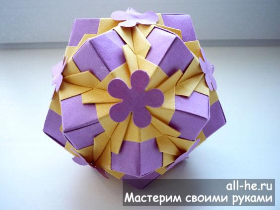 Кусудама из коллекции Floral globe