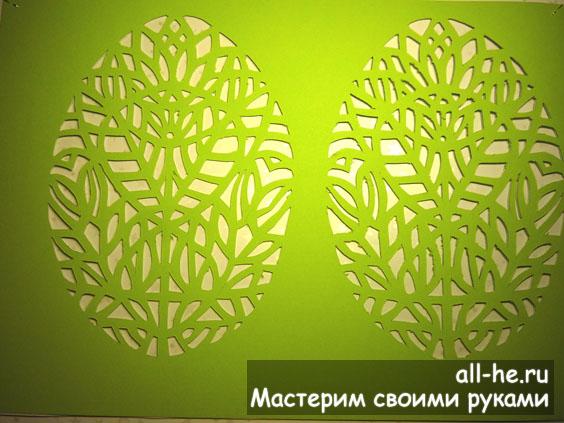 Пасхальная открытка «Цветение»