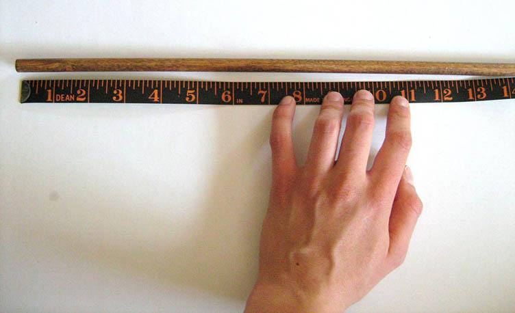 Отмеряем длину