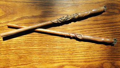 Как сделать волшебную палочку Гарри Поттера